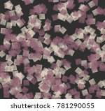 abstract background in pastel... | Shutterstock . vector #781290055