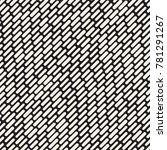 black and white irregular... | Shutterstock .eps vector #781291267