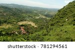Small photo of lime atone valley view from mountain