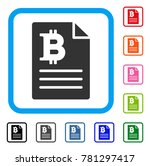 bitcoin prices icon. flat gray...