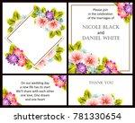 vintage delicate invitation... | Shutterstock .eps vector #781330654