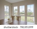 beach house dining room... | Shutterstock . vector #781351399