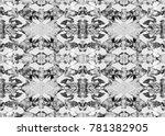 aztec pattern. tribal design.... | Shutterstock . vector #781382905