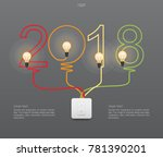 """2018 year""   abstract light... 