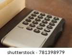 simple pocket calculator with... | Shutterstock . vector #781398979