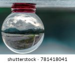 Crystal Ball Inside Is Water...