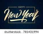 vector illustration. golden...   Shutterstock .eps vector #781431994