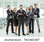 concept of success in business  ... | Shutterstock . vector #781460287