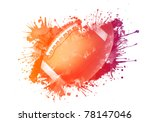 american football ball | Shutterstock . vector #78147046