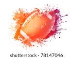 american football ball | Shutterstock . vector #78147046