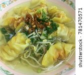 Small photo of Minced pork wrapped in wanton sheet. (Selective focus)