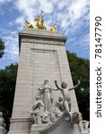 The Uss Maine Monument At The...
