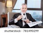 coffee time. vigorous energetic ... | Shutterstock . vector #781490299