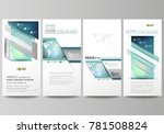 the minimalistic abstract... | Shutterstock .eps vector #781508824