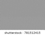 black and white dotted halftone ... | Shutterstock .eps vector #781512415
