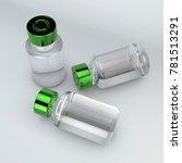 drug vial  drug administration. ... | Shutterstock . vector #781513291