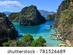 beautiful wild islands with the ... | Shutterstock . vector #781526689