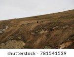 Huge Grassland On The Hill At...