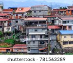 Crowded Shacks In Martinique