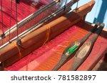 traditional handloom  hill...   Shutterstock . vector #781582897