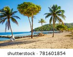 The Caribbean. The Island Of...