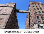 facade of the famous guiness... | Shutterstock . vector #781619905