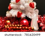 decor design christmas... | Shutterstock . vector #781620499