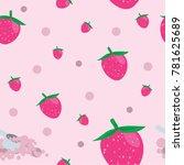 shake protein powder patten | Shutterstock .eps vector #781625689
