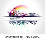 abstract grunge border design... | Shutterstock .eps vector #78162592