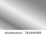black and white dotted... | Shutterstock .eps vector #781640485