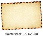 Old Vintage Style Envelope Pat...