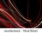 abstract lighting transport... | Shutterstock . vector #781678261