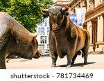 frankfurt  germany   july 27 ...   Shutterstock . vector #781734469