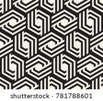 vector seamless pattern. modern ... | Shutterstock .eps vector #781788601