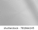black and white dotted... | Shutterstock .eps vector #781866145