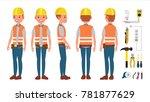 professional electrician.... | Shutterstock . vector #781877629