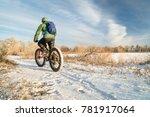Riding A Fat Mountain Bike In...