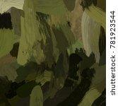 oil painting on canvas handmade....   Shutterstock . vector #781923544
