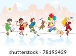 vector illustration  group of... | Shutterstock .eps vector #78193429