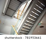 stair in the building.   Shutterstock . vector #781953661