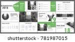 abstract white  green... | Shutterstock .eps vector #781987015