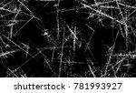 grunge watercolor dry brush... | Shutterstock .eps vector #781993927