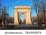 bucharest  romania  december 26 ...   Shutterstock . vector #781995874