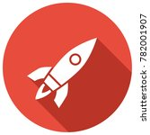 rocket vector icon | Shutterstock .eps vector #782001907