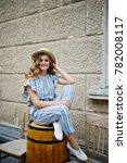 portrait of a good looking...   Shutterstock . vector #782008117