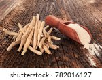 ashwagandha superfood powder... | Shutterstock . vector #782016127