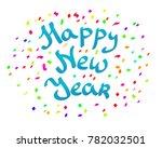 new year background   Shutterstock . vector #782032501