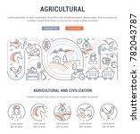 line illustration of... | Shutterstock .eps vector #782043787