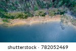 aerial view of trees and shore... | Shutterstock . vector #782052469