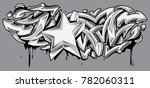 star and arrows black and white ... | Shutterstock .eps vector #782060311